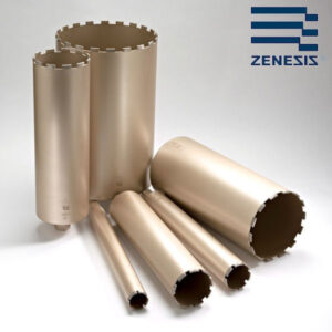 ZENESIS Wet Diamond Core Bits 24ø - 600ø General to Hard Building Materials