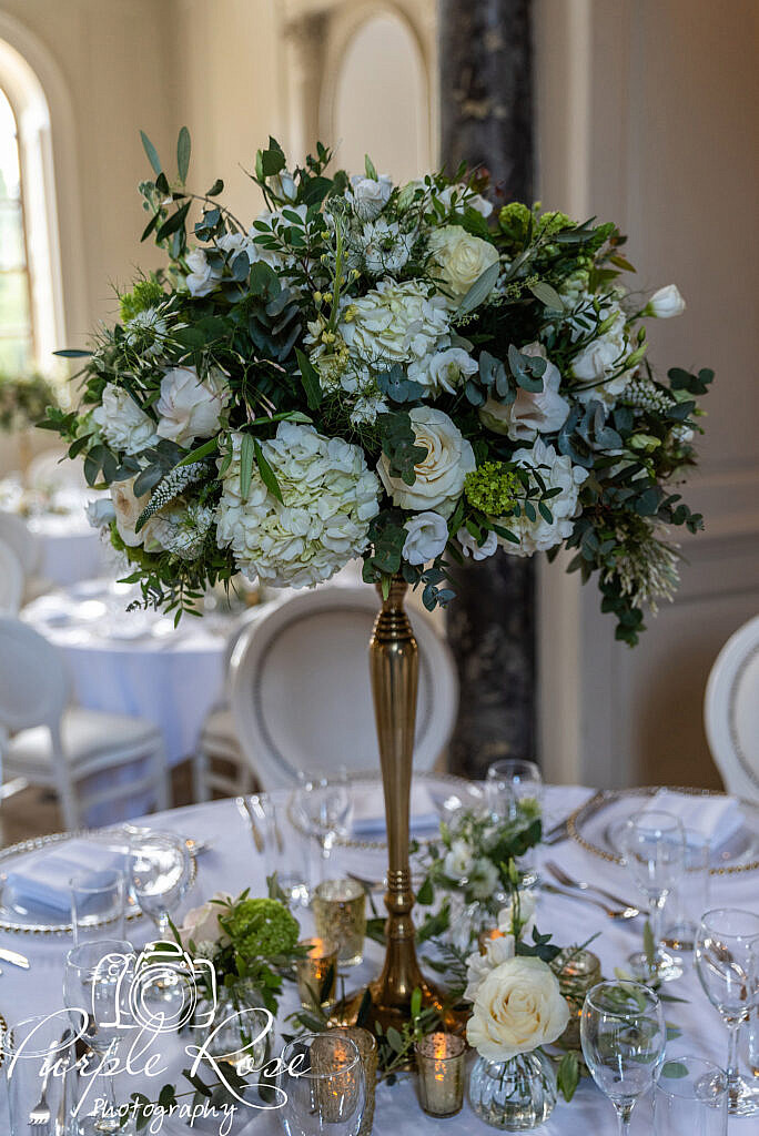 Wedding table centre peice