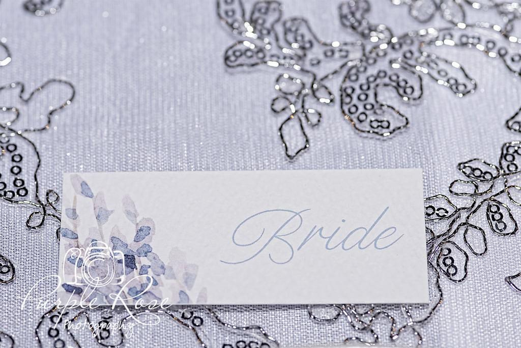 Brides name place