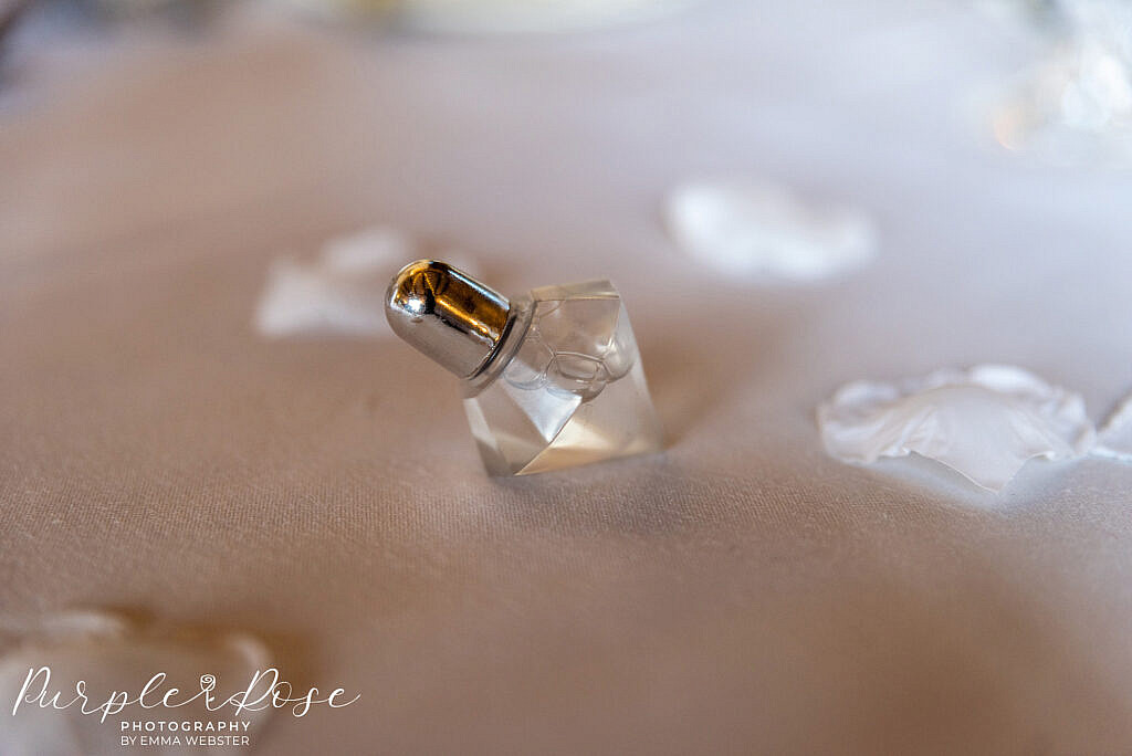 Perfume wedding favour