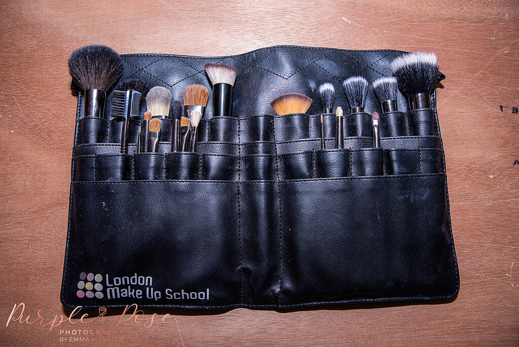 Make up artists brushes