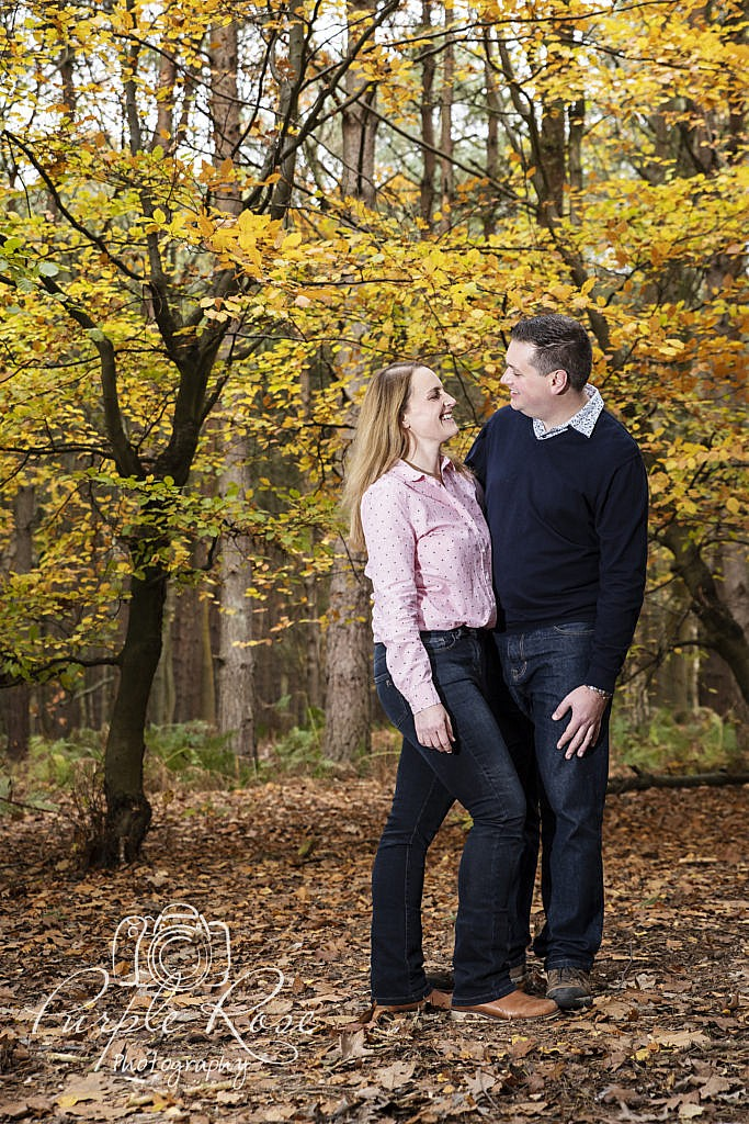 Pre wedding shoot in a forest