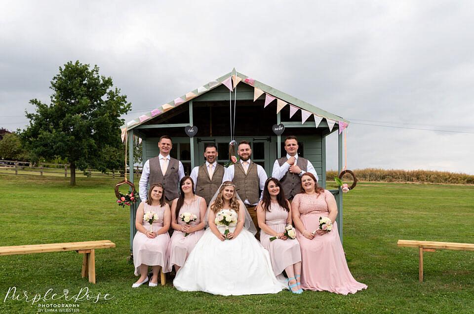 The Barn at Newton Park Farm Wedding Photographer