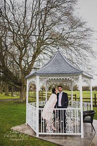 Woughton House winter wedding