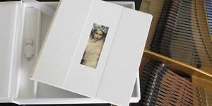 Boxed fine art photo book