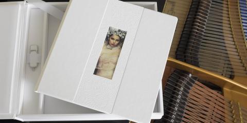 Boxed fine art photo book
