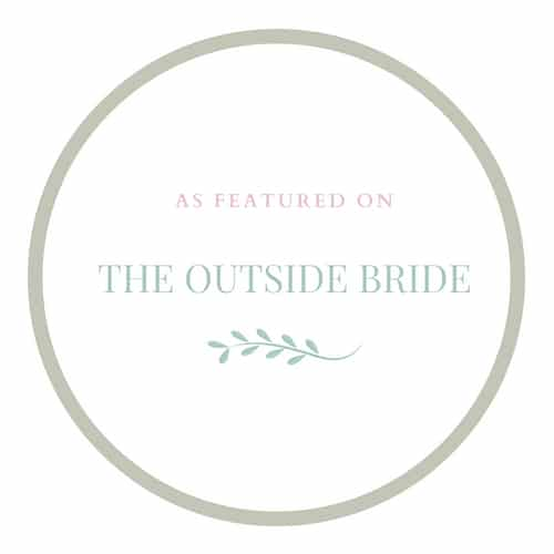 The outside bride logo