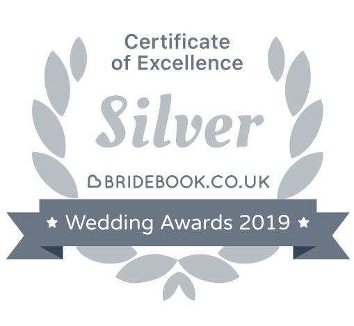 Bridebook silver award