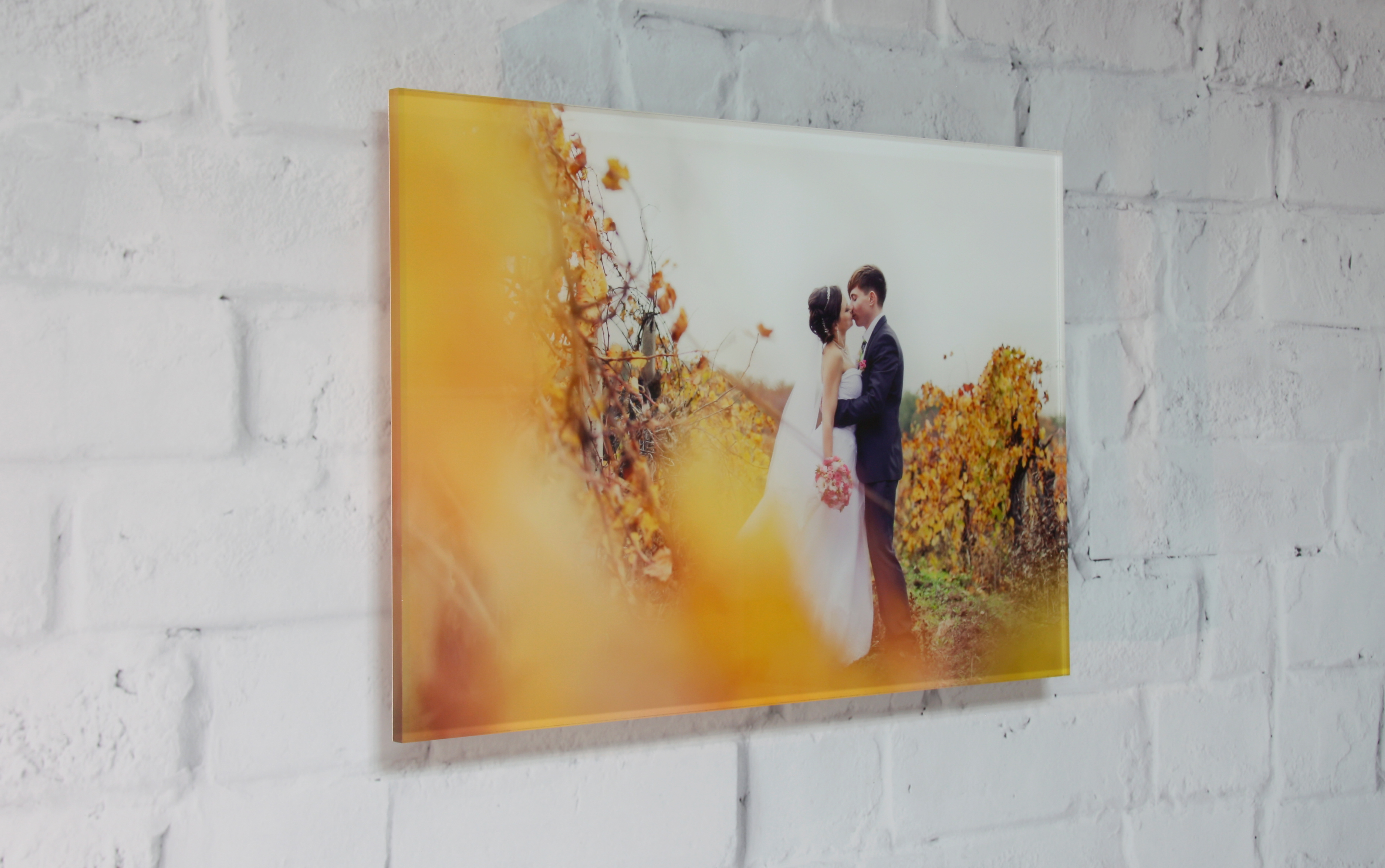Rectangle acrylic print