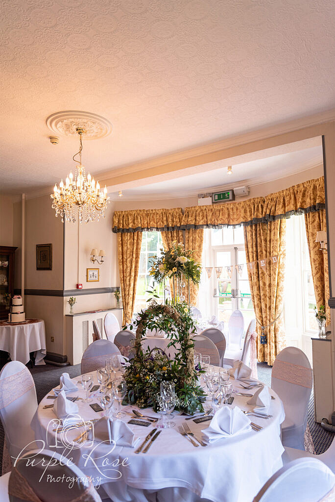 Reception room at The Woodlands Manor Bedford