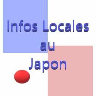 Infos Locales au Japon