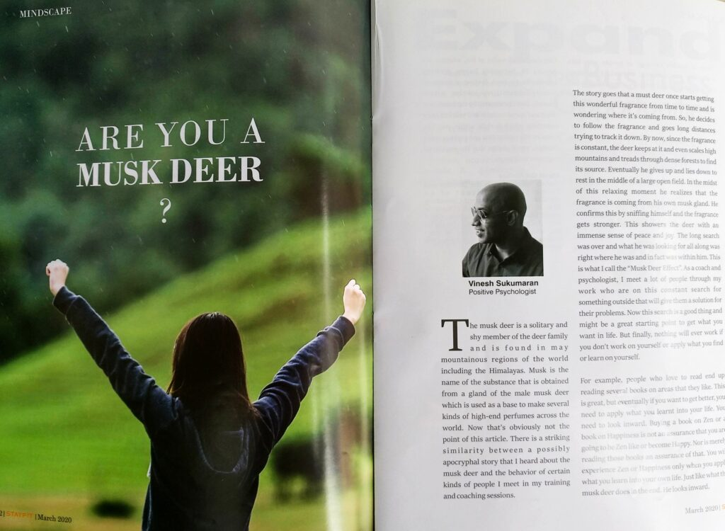 Are You A Musk Deer