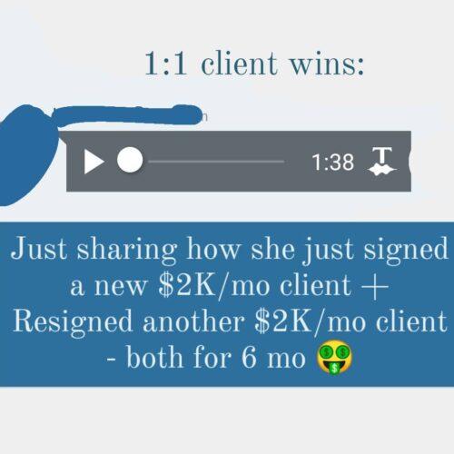 2 x $2K_mo clients
