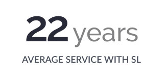 22 Years Average Service with SL