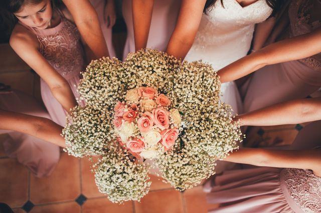 wedding day flowers & decoration