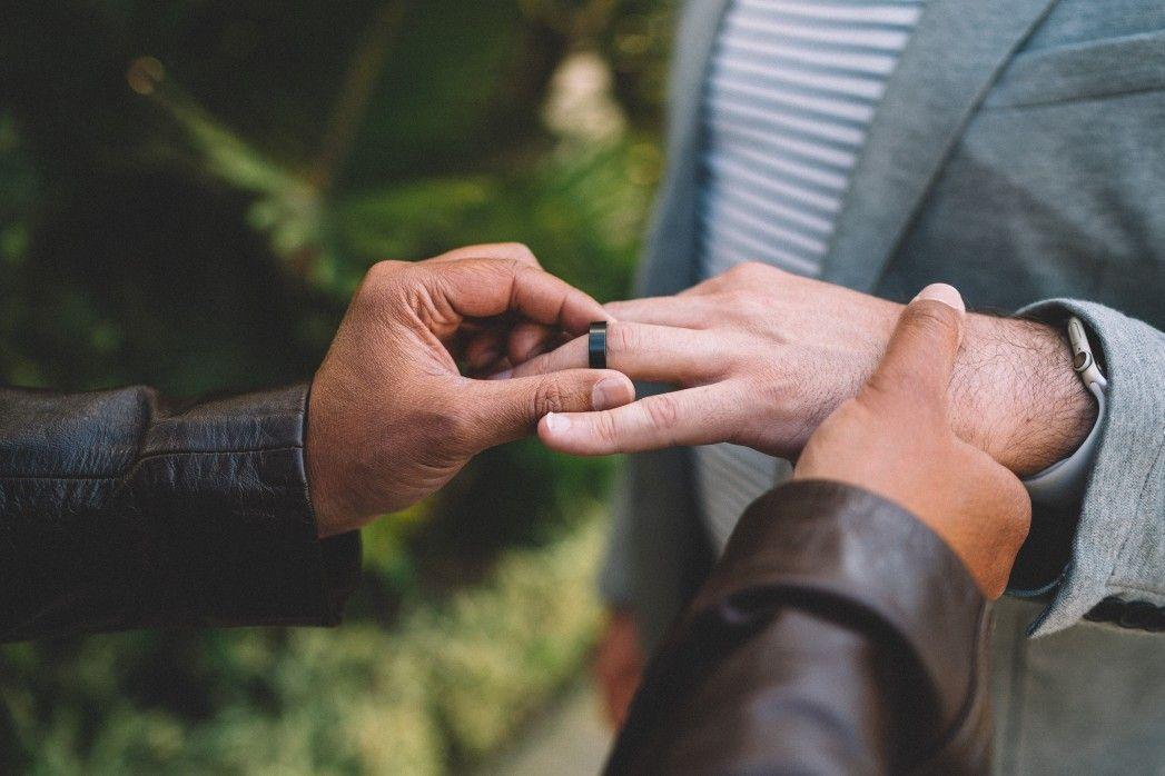 Same sex marriage ceremony