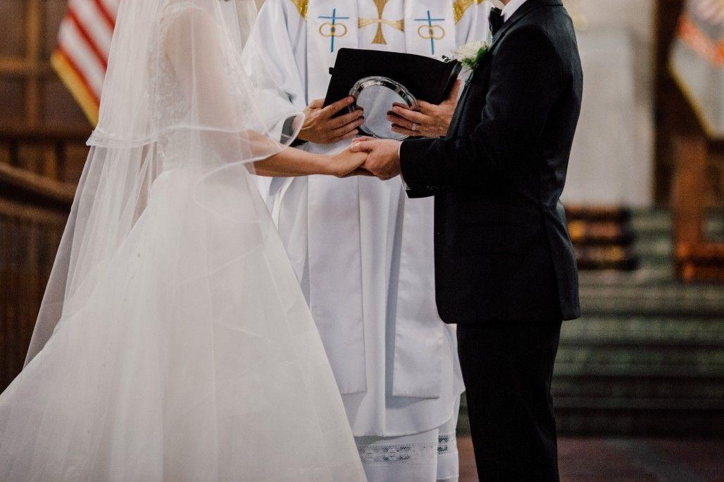 Catholic marriage ceremony