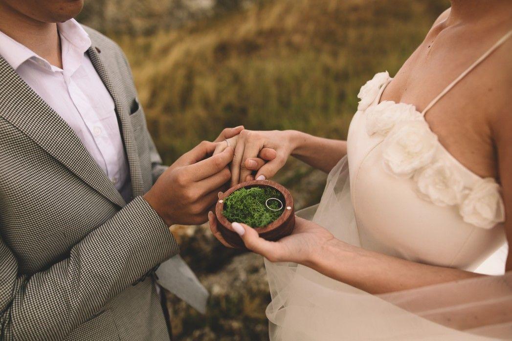 Residents civil wedding