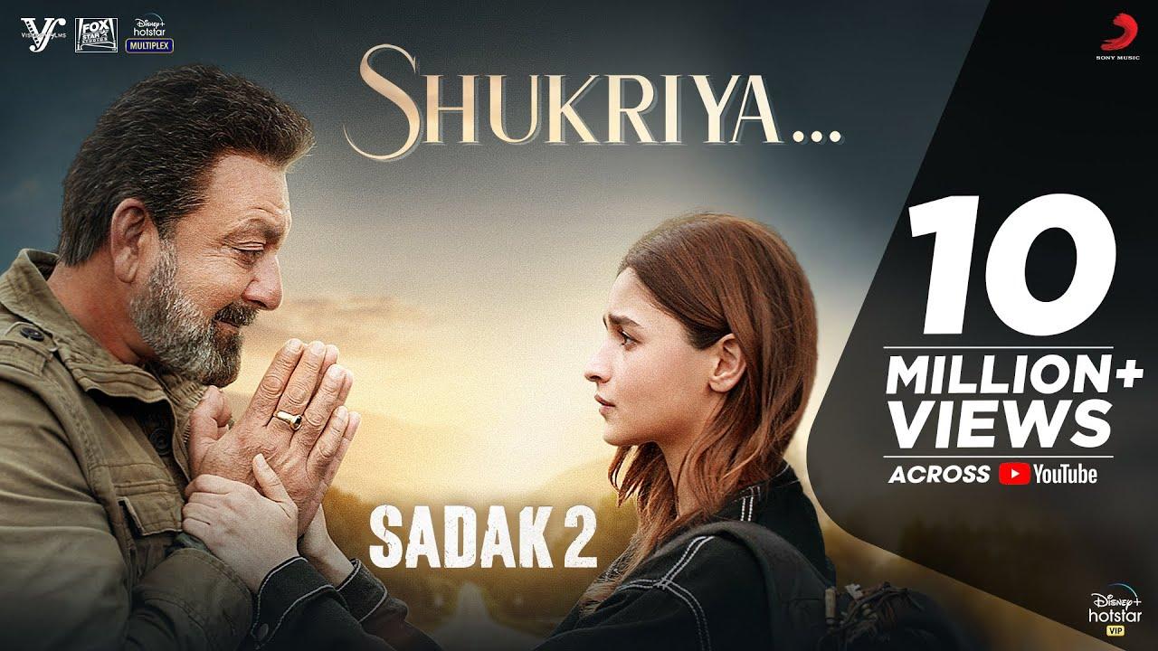 hindi sadak 2 shukriya