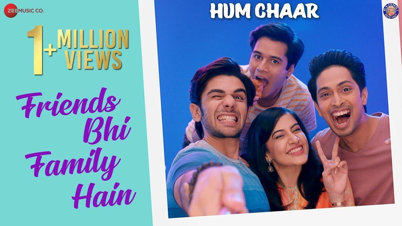 friends bhi family hain hum chaar aaman rajiv