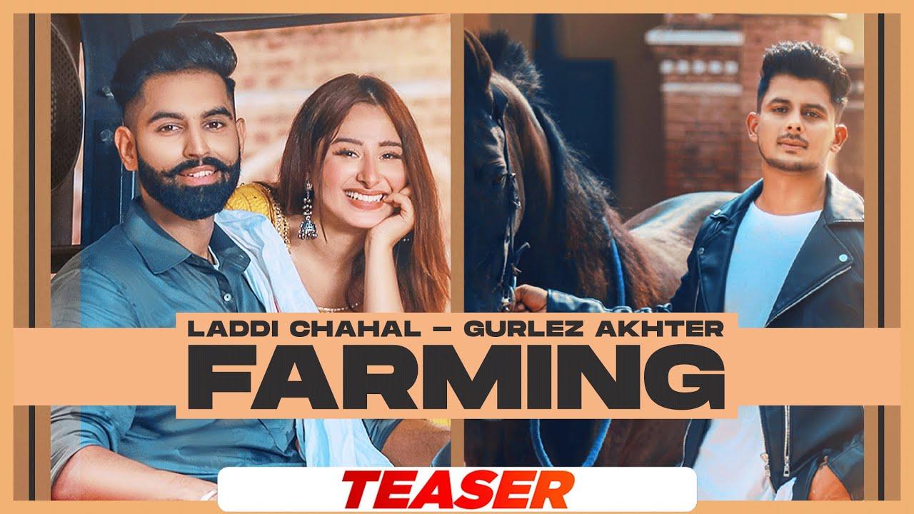 punjabi farming laddi chahal gurlez akhtar poster