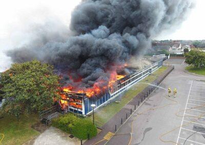 SELSEY ACADAMY FIRE