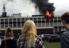 school fire