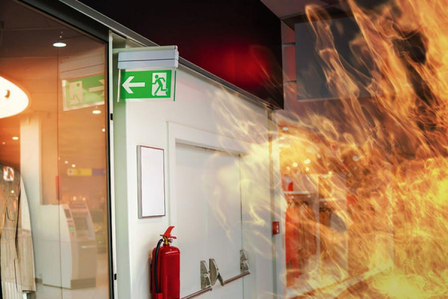doorway fire