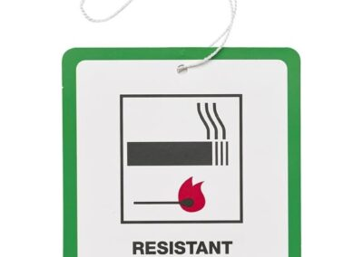 fire safety label furniture