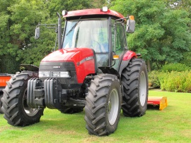 One of the 4 Lightfoot Tractors