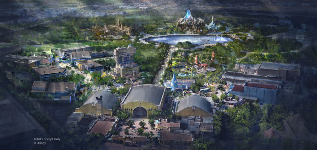 Walt Disney Studios Park expansion concept art