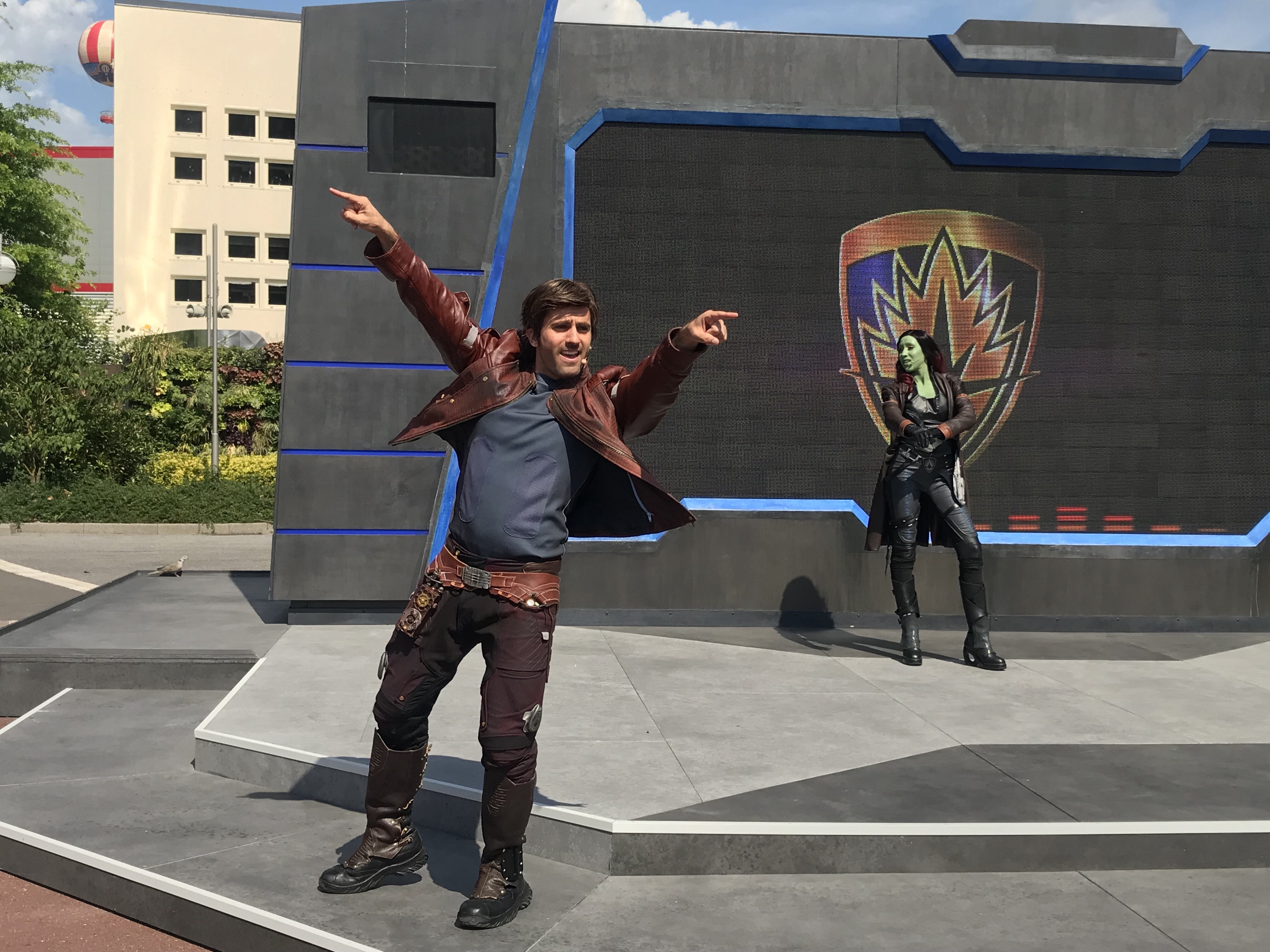 Guardians of the Galaxy Awesome Dance-off