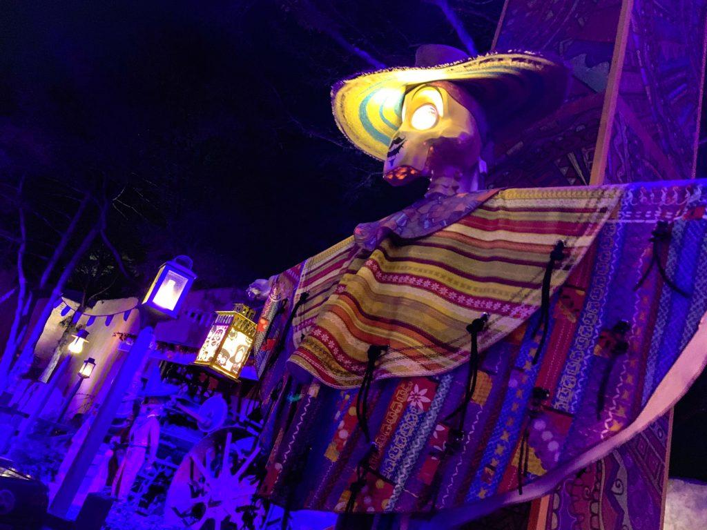 Disneyland Paris Halloween Coco decorations