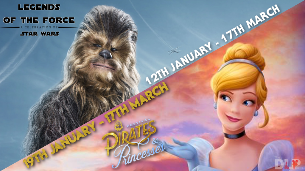 Disneyland Paris 2019 pirates and princesses
