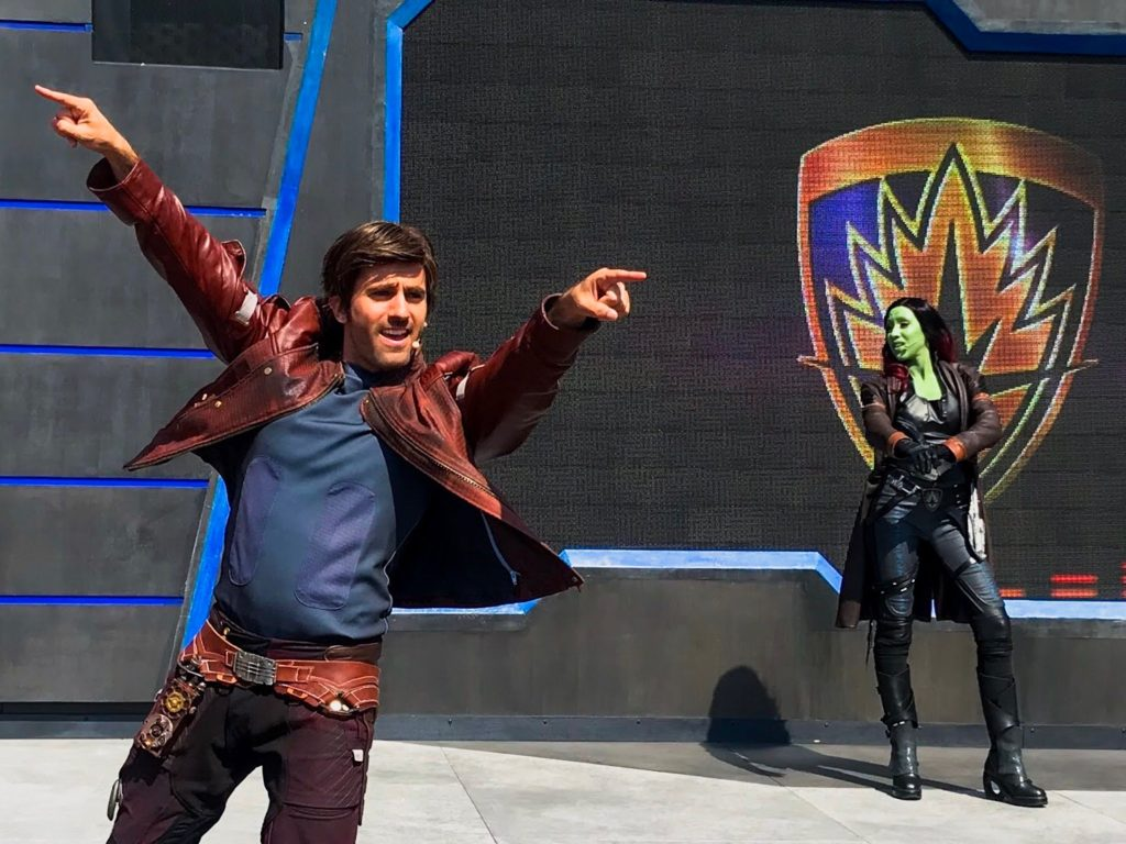 Marvel Season of Super Heroes Guardians of the Galaxy Awesome Dance-off