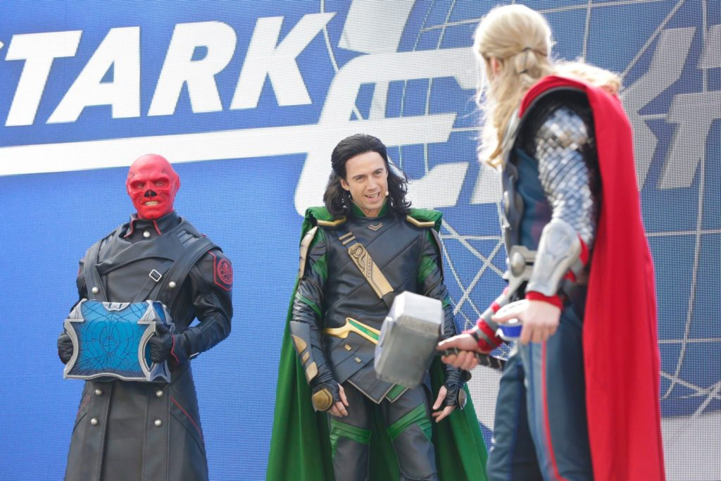 Marvel Season of Super Heroes Star Expo