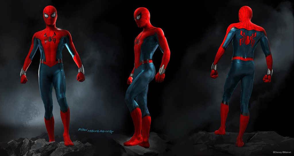 Spider-Man suit concept art