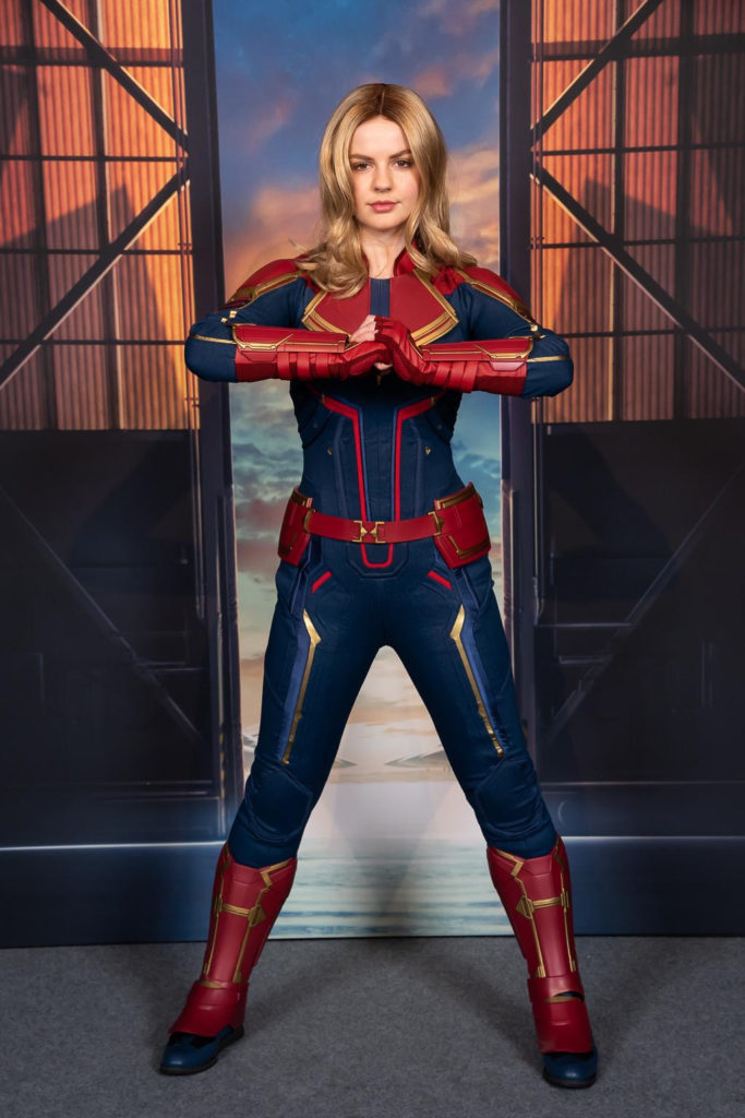 Stark Expo Make Way for a Better Tomorrow Captain Marvel