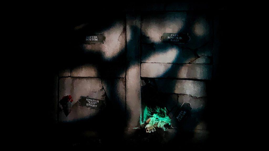 Phantom Manor Refurbishment Detailed Crypt