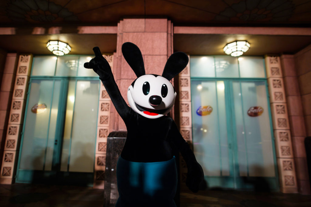 Disney Loves Jazz Oswald