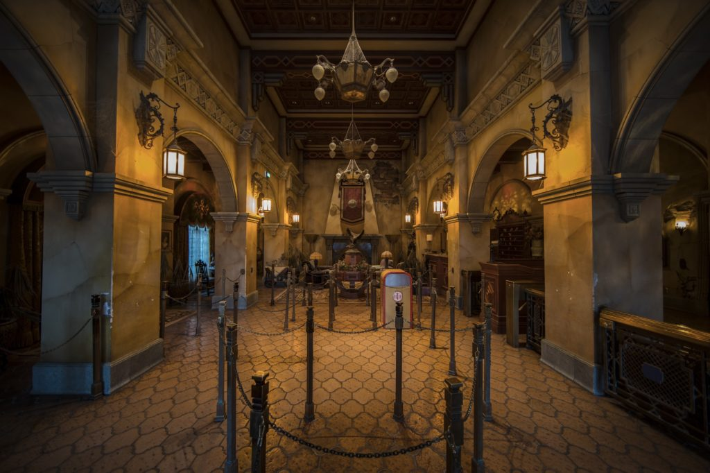 Tower of Terror - A New Dimension of Chills interior