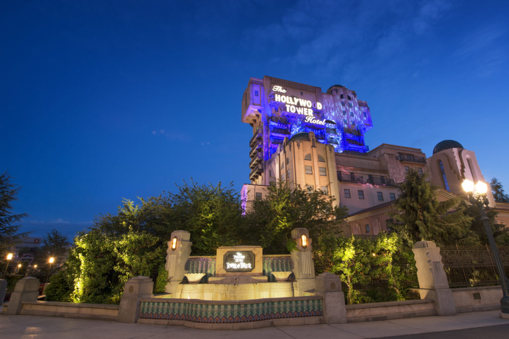 Tower of Terror A New Dimension of Chills Exterior