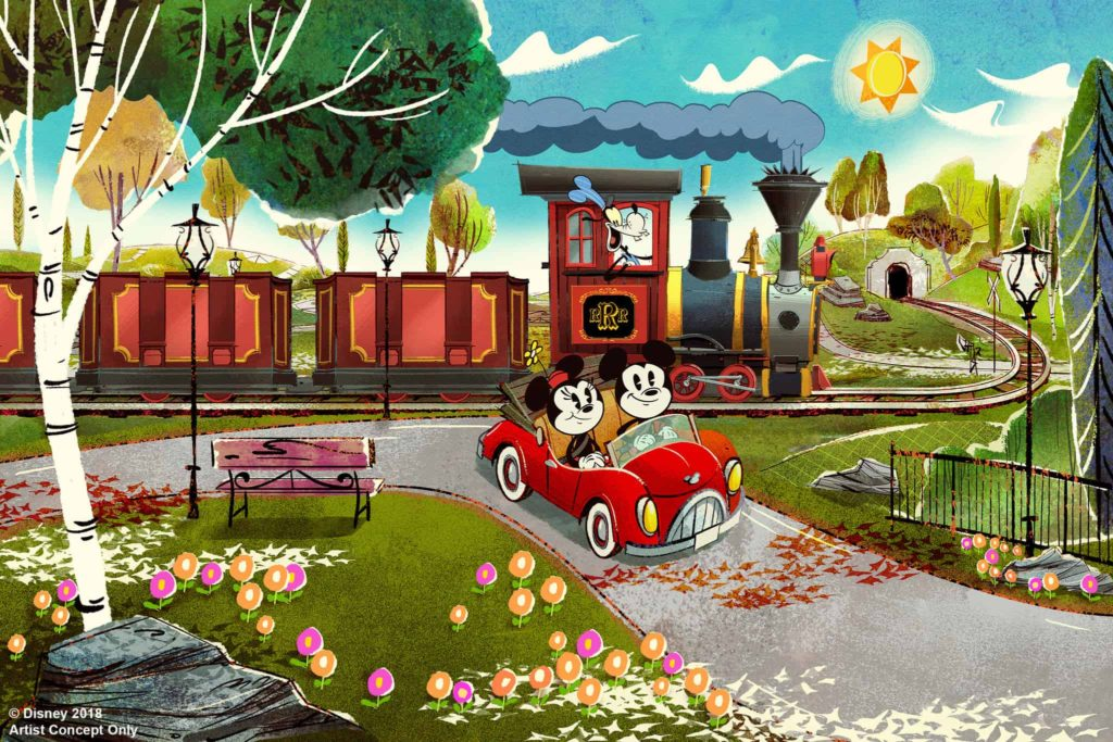 D23 Expo 2019 Mickey & Minnie's Runaway Railroad