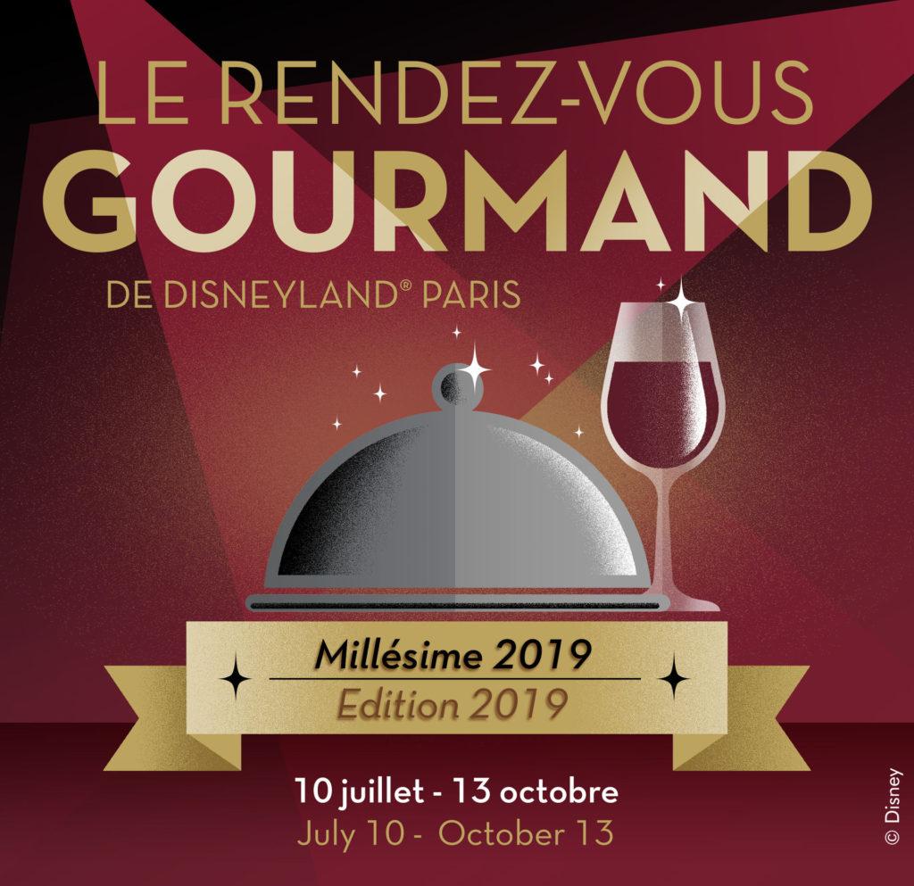 Le Rendez-vous Gourmand poster 2019