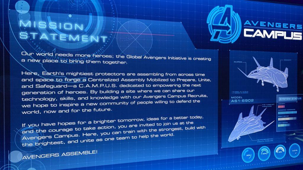 Avengers Campus description