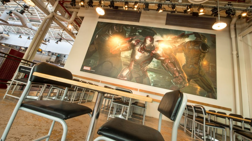 Blockbuster Café Iron Man
