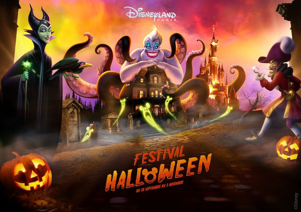 Halloween Festival 2019 Disneyland Paris visual