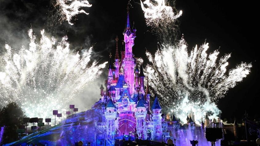 New Year's Eve 2019 Sleeping Beauty Castle