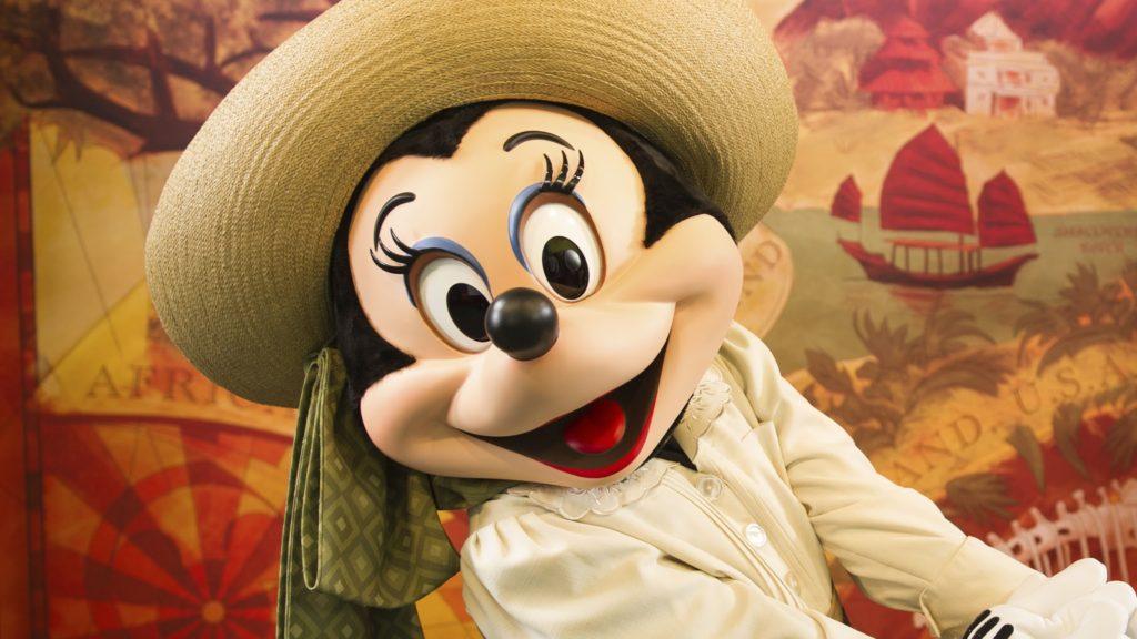 Disneyland Park Celebrations characters
