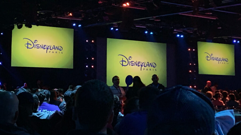 Disneyland Paris appearing at the Disney Parks panel at D23